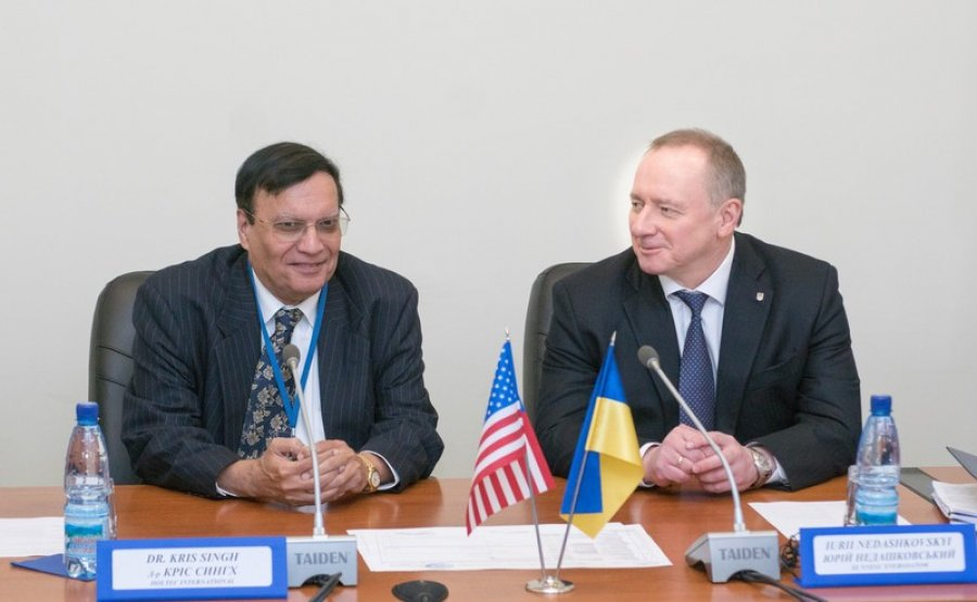 Yuri Nedashkovsky and Dr. Kris Singh have discussed the state of implementation of the project CSSNF