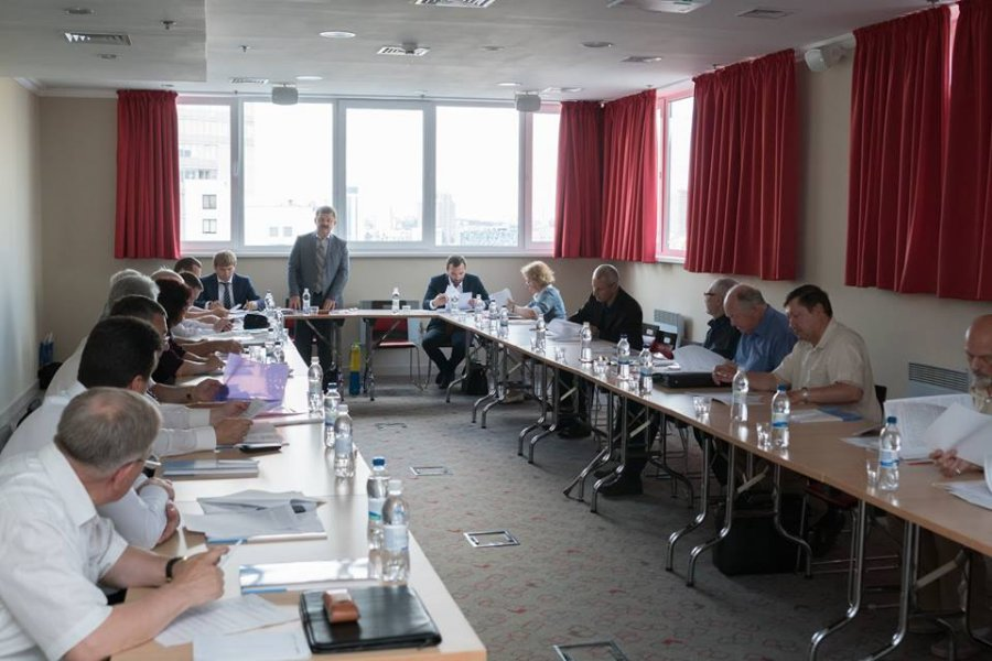 Board meeting of The Ukrainian Nuclear Society
